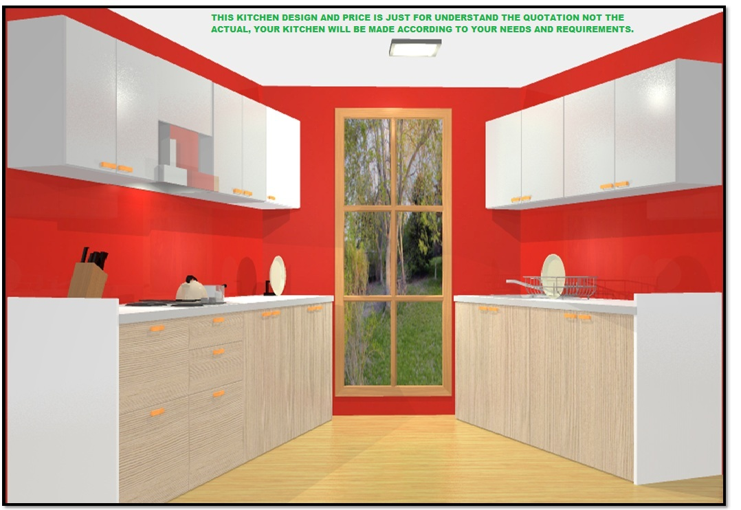 10 X 8 50 Off Kitchen Parallel Fully Modular Laminate Kitchen In Marine Plywood By Bamsv Omaa Furnishing